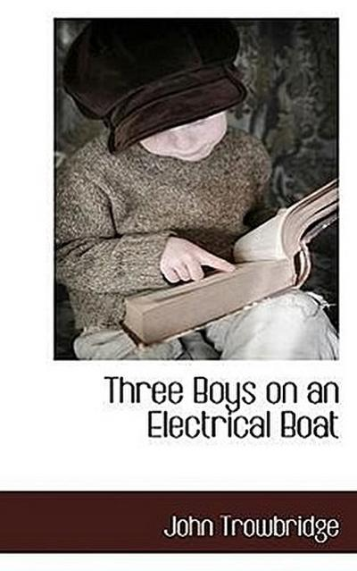 Three Boys on an Electrical Boat