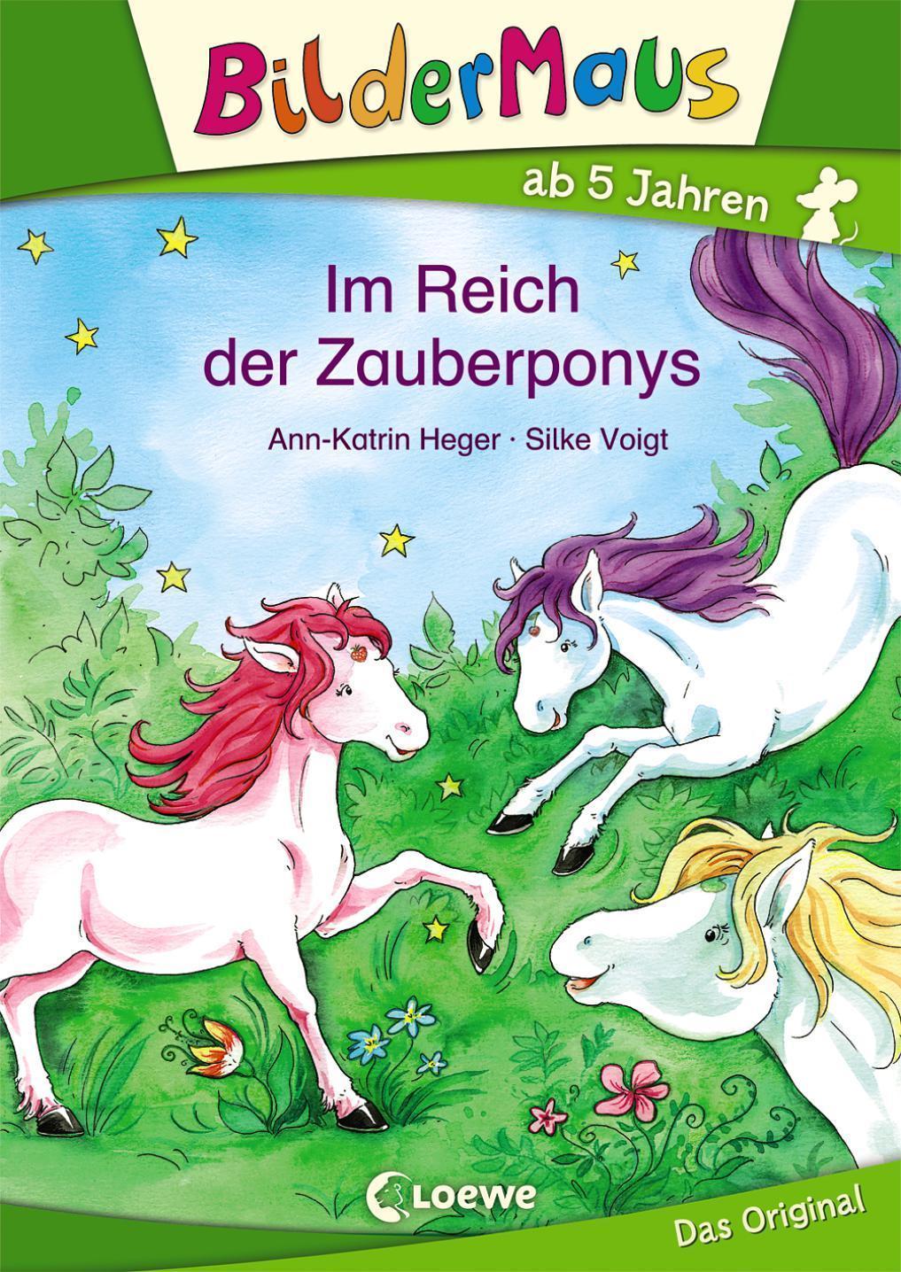 Ann-Katrin Heger ~ Bildermaus - Im Reich der Zauberponys 9783785577721