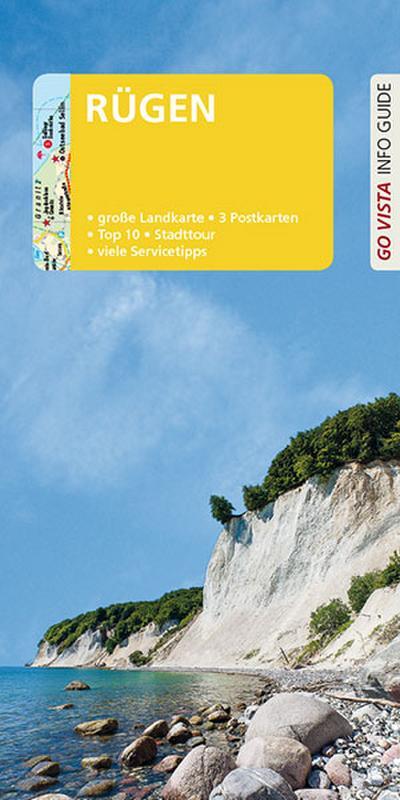 GO VISTA: Reiseführer Rügen: Mit Faltkarte und 3 Postkarten