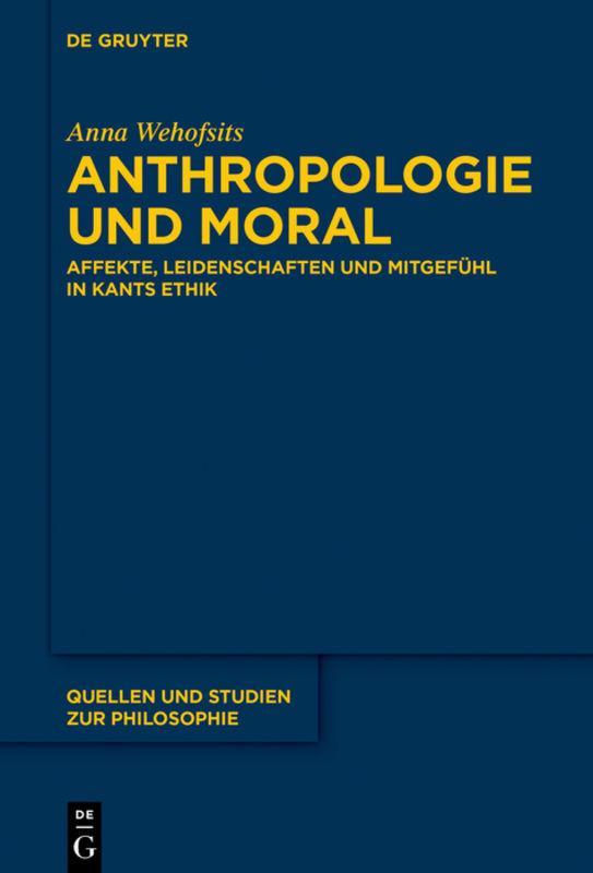 Anthropologie und Moral Anna Wehofsits