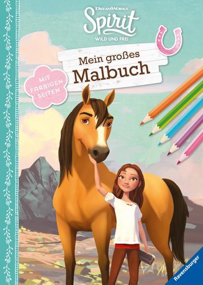 Dreamworks Spirit Wild und Frei: Mein großes Malbuch