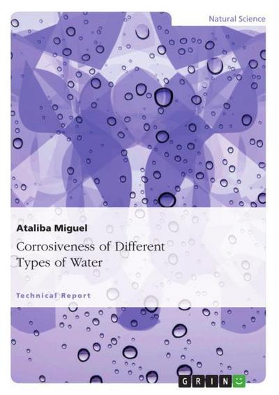 Corrosiveness of Different Types of Water