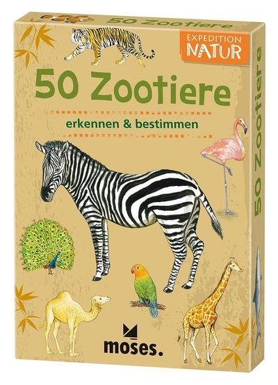 Expedition Natur 50 Tiere im Zoo
