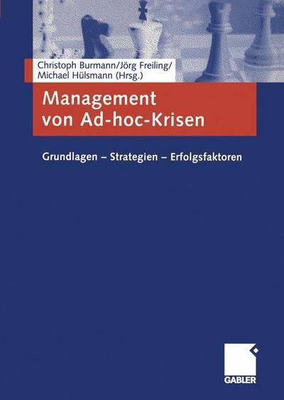 Management von Ad-hoc-Krisen