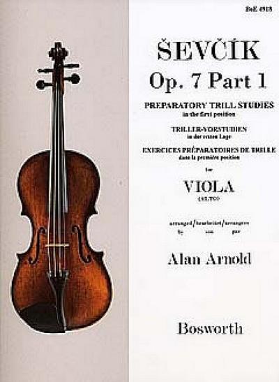 Sevcik Viola Studies Op.7 Part 1