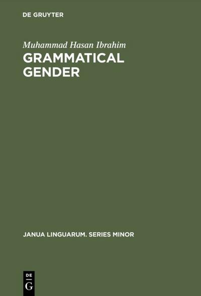 Grammatical Gender