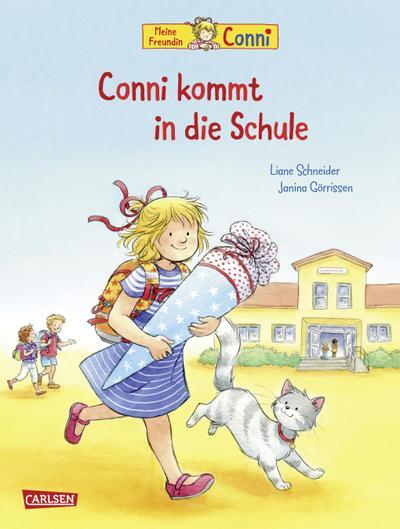 Conni-Bilderbücher: Conni kommt in die Schule (Neuausgabe)
