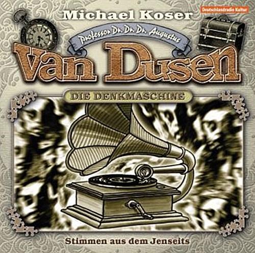 Professor van Dusen - Stimmen aus dem Jenseits, 1 Audio-CD Michael Koser