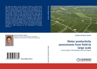 Water productivity assessments from field to large scale