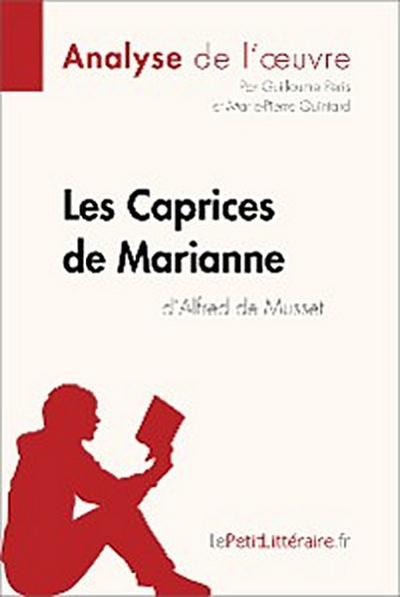 Les Caprices de Marianne d'Alfred de Musset (Analyse de l'oeuvre)