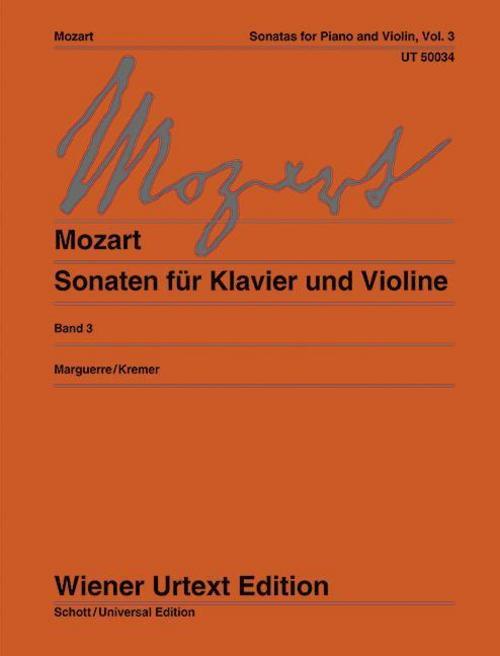 Sonaten Wolfgang Amadeus Mozart