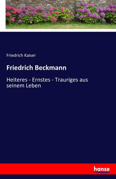Friedrich Beckmann