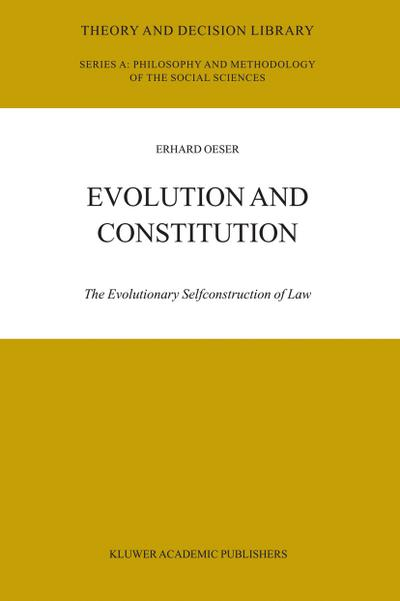 Evolution and Constitution
