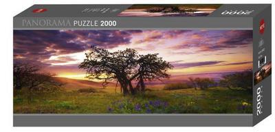 Heye 29472 - Panorama Puzzles 2000 Teile Oak Tree, Alexander von Humboldt