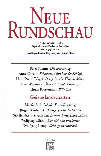 Neue Rundschau 2006/2