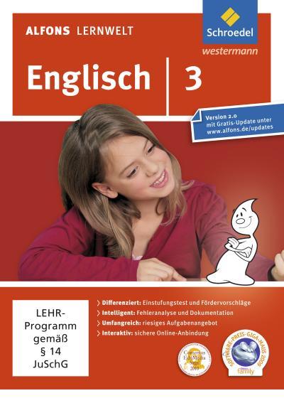 Alfons Lernwelt Lernsoftware Englisch 3. DVD-ROM