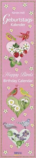 Geburtstags-Langplaner Happy Birds