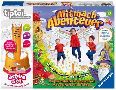 tiptoi® tiptoi® active Set Mitmach-Abenteuer (Spiel-Zubehör)
