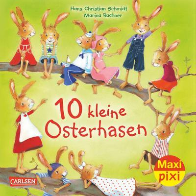 Maxi-Pixi Nr. 244: VE 5 10 kleine Osterhasen