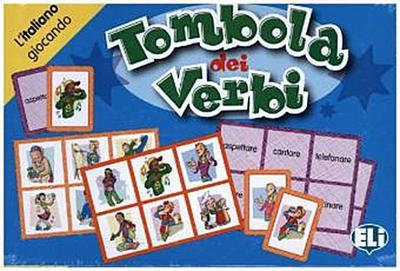 Tombola dei verbi (Giochi didattici) - European Language Institute ELI - Spiel, Italienisch, , ,