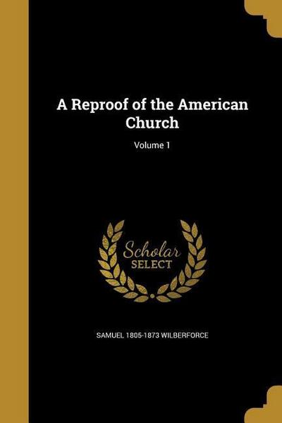 REPROOF OF THE AMER CHURCH V01