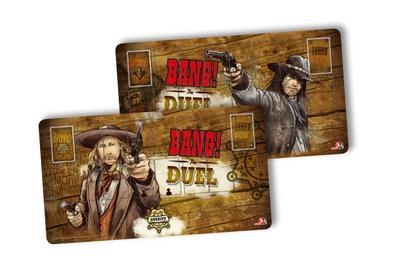 BANG! The Duel Spielermatten (Spiel-Zubehör)