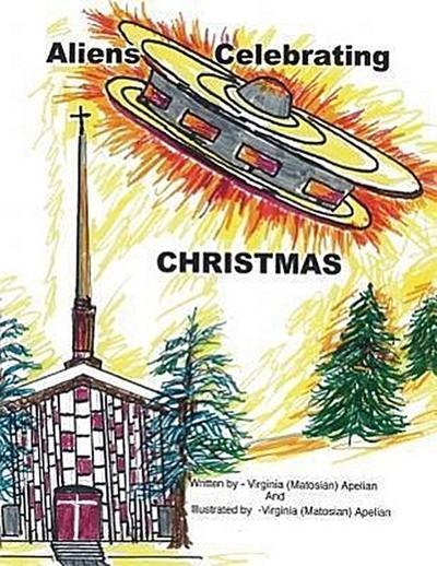 Aliens Celebrating Christmas
