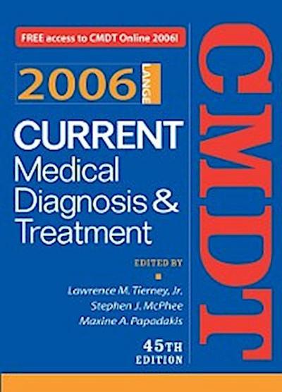 Current Medical Diagnosis & Treatment, 2006