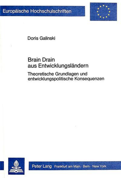 Brain Drain aus Entwicklungsländern