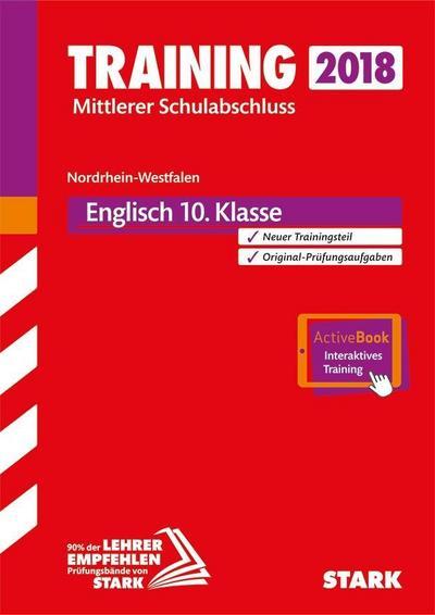 Training Mittlerer Schulabschluss NRW - Englisch, mit DVD - inkl. Online-Prüfungstraining: Ausgabe mit ActiveBook + Videos