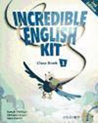 INCREDIBLE ENGLISH KIT 1 CB & CD-R PK 2E