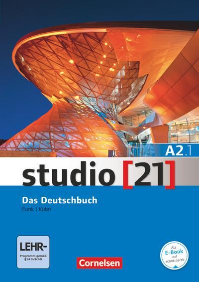 studio [21] Grundstufe A2: Teilband 1. Deutschbuch mit DVD-ROM