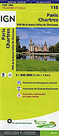 Paris Chartres 1:100 000