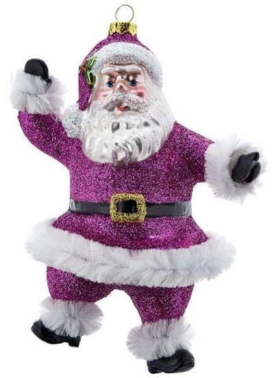 Tanzender Santa, pink