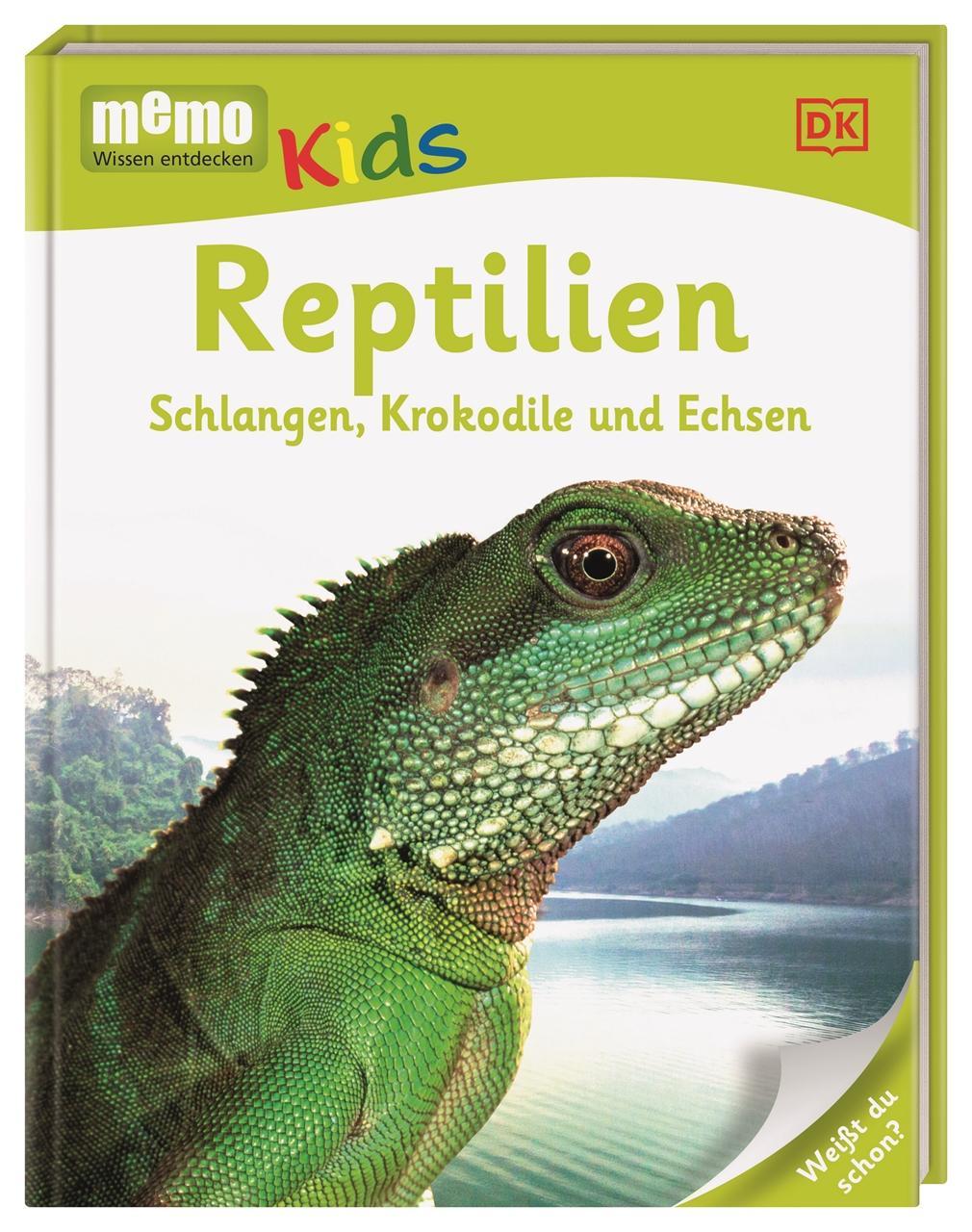 memo Kids. Reptilien, Simon Holland