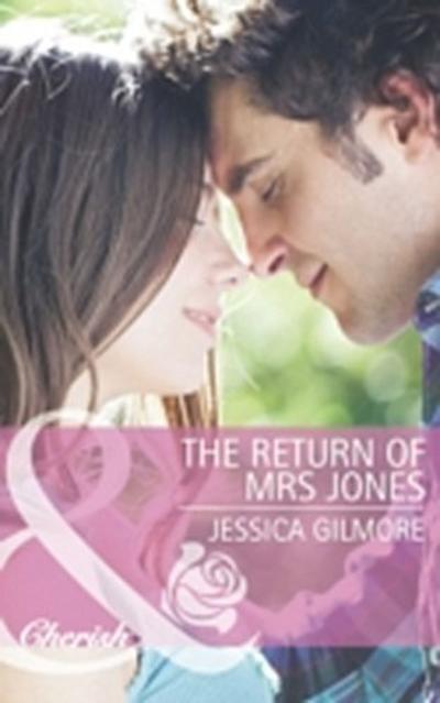 Return of Mrs Jones (Mills & Boon Cherish)