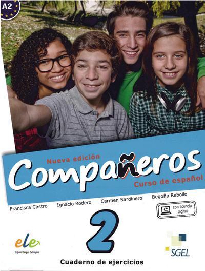 Compañeros Nuevo 2. Arbeitsbuch