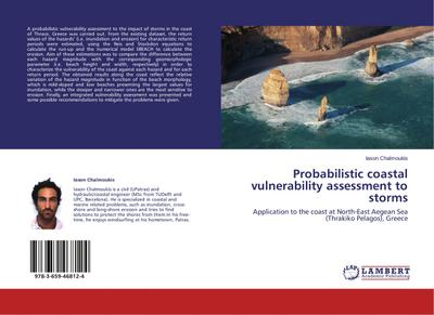 Probabilistic coastal vulnerability assessment to storms