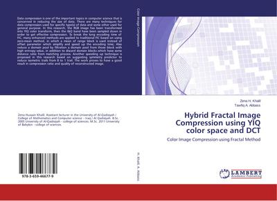Hybrid Fractal Image Compression using YIQ color space and DCT