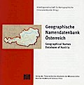 Geographische Namendatenbank Österreich. Geographical Names Database of Austria, 1 CD-ROM