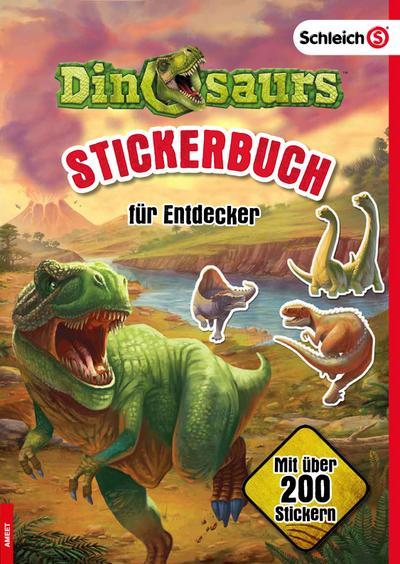SCHLEICH® Dinosaurs(TM) Stickerbuch für Entdecker