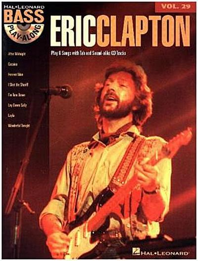 Bass Play-Along - Eric Clapton, w. Audio-CD