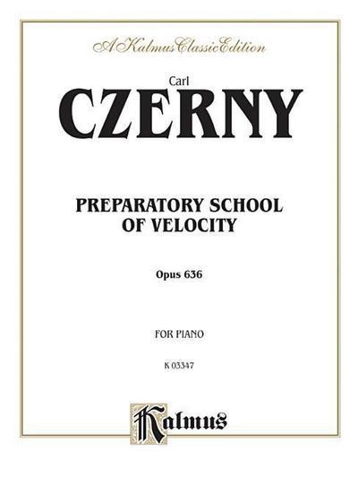 Preparatory School of Velocity, Op. 636