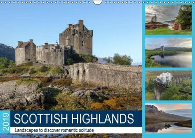 Scottish Highlands (Wall Calendar 2019 DIN A3 Landscape)