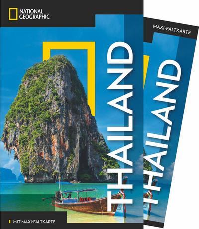 NATIONAL GEOGRAPHIC Reiseführer Thailand mit Maxi-Faltkarte; NG_Traveller; Deutsch