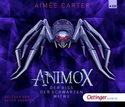 Animox 04. Der Biss der schwarzen Witwe