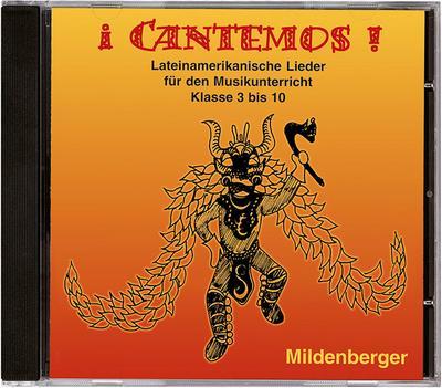 iCantemos!  1 CD mit 24 Lateinamerikanischen Liedern für den  Musikunterricht Klasse 3-10 - Mildenberger Verlag Gmbh - Audio CD, Deutsch| Spanisch, Wolfgang Junge, 24 lateinamerikanische Lieder für den Musikunterricht in den Klassen 3 bis 10, 24 lateinamerikanische Lieder für den Musikunterricht in den Klassen 3 bis 10