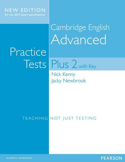 Cambridge Advanced Practice Tests Plus New Edition Students' Book with Key