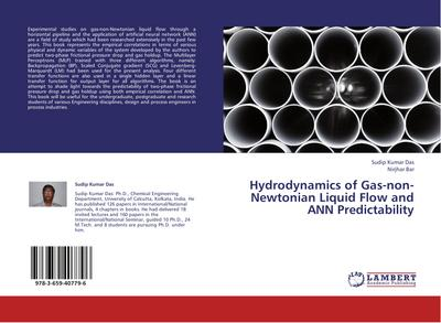Hydrodynamics of Gas-non-Newtonian Liquid Flow and ANN Predictability
