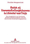 Klatsch als Kommunikationsphänomen in Literatur und Presse